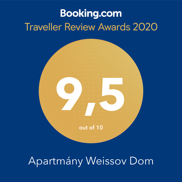 Booking.com rating 9.5 :-)